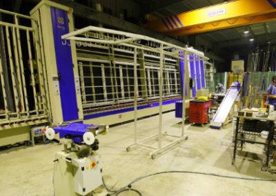 Linea para la fabricación de doble acristalamiento Marval 2000