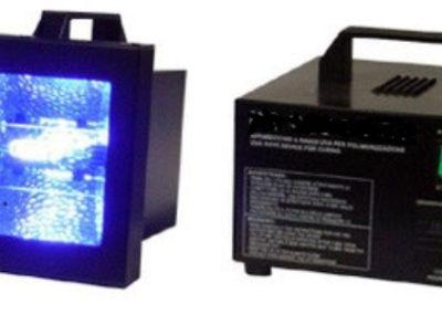 Lámparas UV para el vidrio