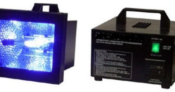 Lamparas UV para el vidrio