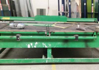 Mesas de corte para vidrio laminado Bottero segunda mano modelo 301C