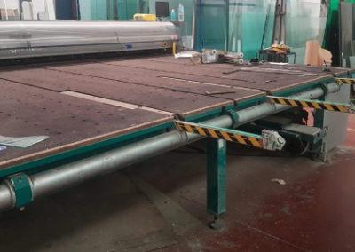 Mesas de corte para vidrio laminado Bottero 535 AVL-46 segunda mano