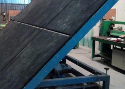 Mesa tronzadora segunda mano Bohle para hoja de 6 x 3.21 metros