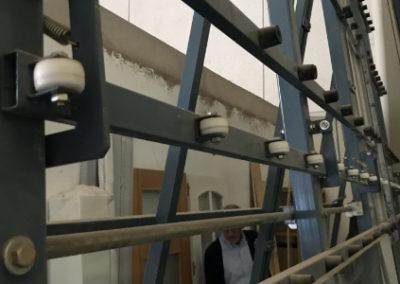 Sierra de corte Metral para el vidrio modelo SV-2 segunda mano