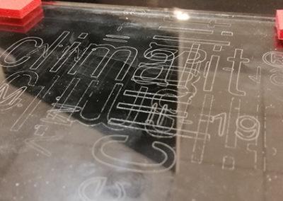 Grabado y marcado del vidrio