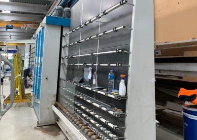 Línea para la fabricación de doble acristalamiento Forel 2000 segunda mano