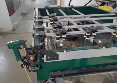 Mesa de segunda mano para la fabricación de barrotillo para el doble acristalamiento